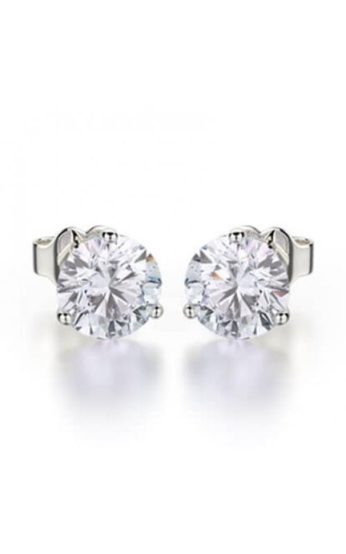 RJ Earring 001 - White Gold product image